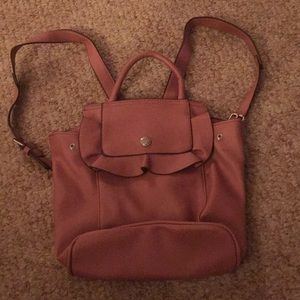 Nine West Rose Colored Mini Backpack